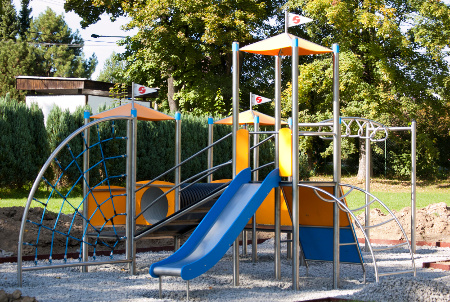 New children playground in Albrechtice (CZ)
