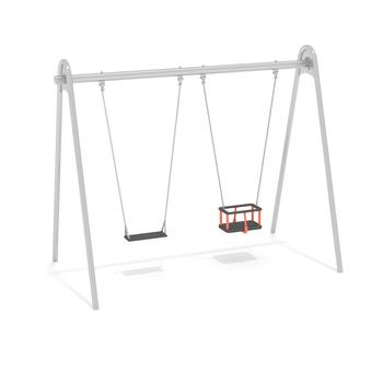 Swing with closed child seat 13089