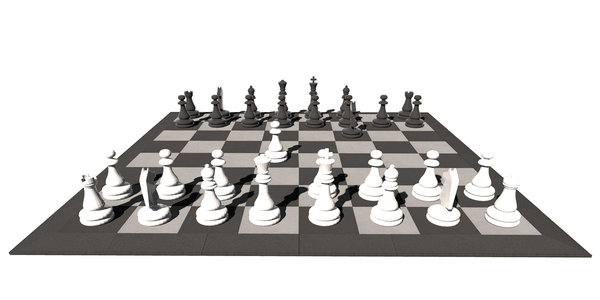 "Game ""CHESS AND DAMES"""